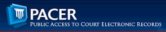 Public Access to Court Electronic Records (PACER) Login Page
