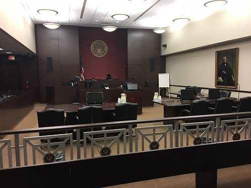 District Judge Courtroom - James A. Byrne U.S. Courthouse